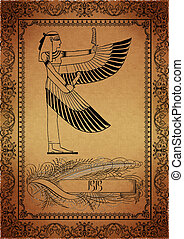 Parchment-Egyptian - Parchment with egytian elements