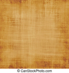 parchment - a large sheet of old parchment or fabric