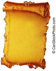 Parchment - Old parchment.