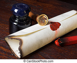 Parchment - Sealed roll of parchment paper