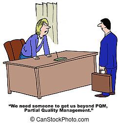 parcial, dirección, calidad