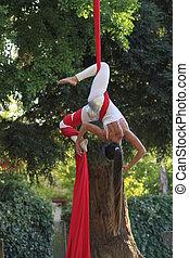parco, acrobata