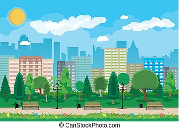 parco città, concetto