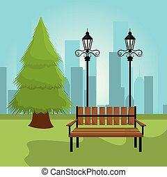 parco città, design.