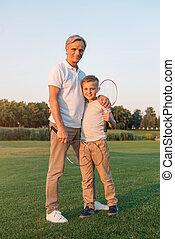 parco, nipote, nonno