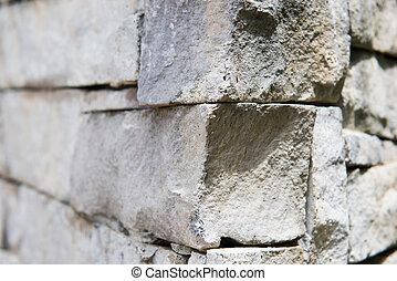 parco, pietra, parte, parete