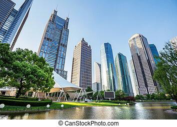 parcs, et, architecture moderne