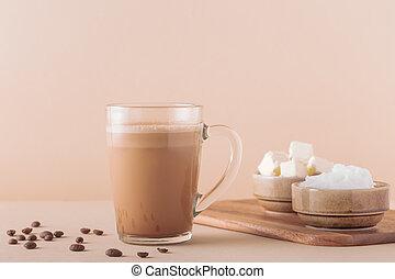 pare-balles, mct, mélangé, oil., organique, café, beurre, ...