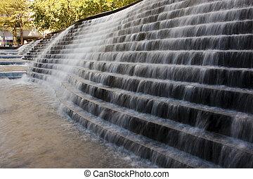 pared, agua