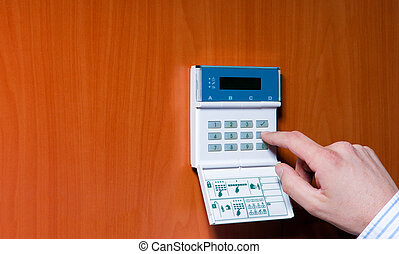 pared, alarmsystem
