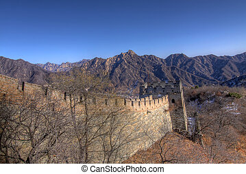 pared, beijing, grande, china