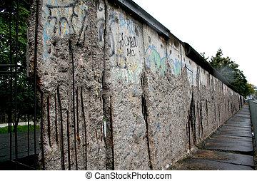 pared, berlín, alemania