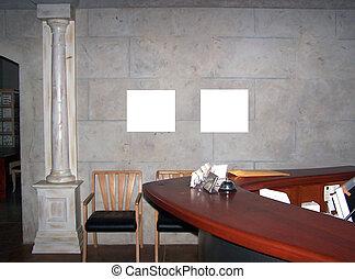 pared, blanco