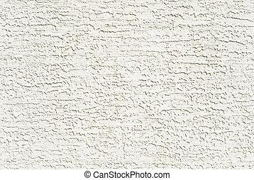 pared, blanco, estuco