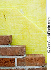 pared, casa, termal, aislamiento