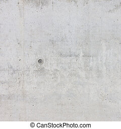 pared concreta, de, un, edificio