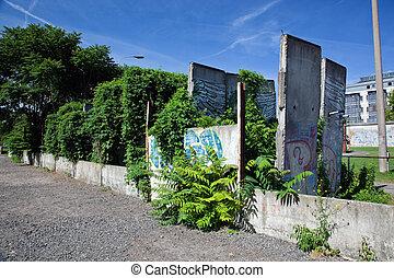 pared de berlín, monumento conmemorativo