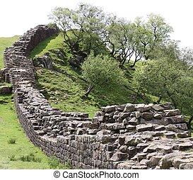 pared de hadrians, paisaje