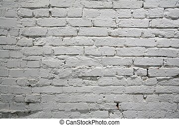 pared de ladrillo pintada
