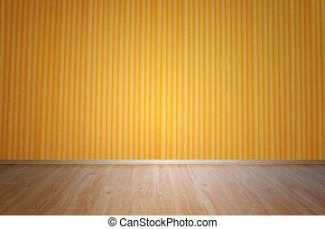 pared, de madera, Espaguetis, textura, piso