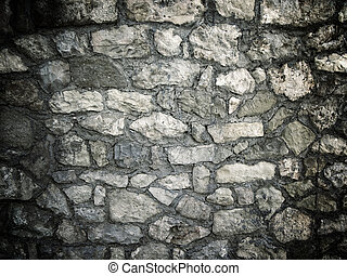 pared de piedra, textura