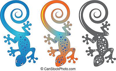 pared, gecko