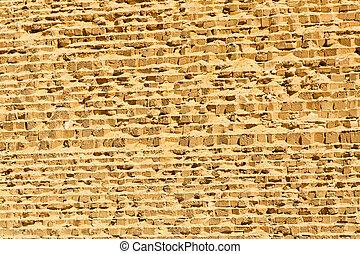 pared, gran pirámide