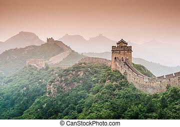 pared, grande, china