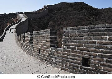 pared, grande, china
