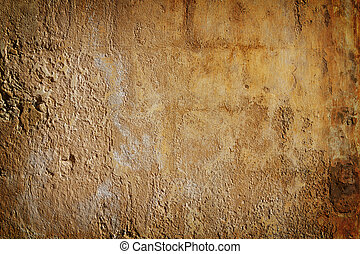 pared, grunge, marchito, antiguo, texure.