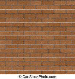pared, ladrillo, 2