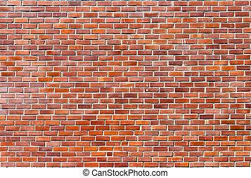 pared, ladrillo, plano de fondo, textura
