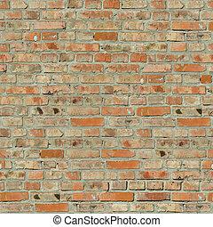 pared, ladrillo, texture.