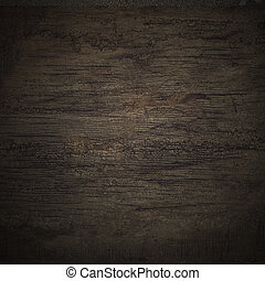 pared, madera, negro, textura