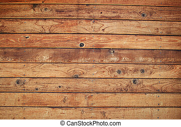 pared, madera, tabla