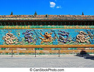 pared, nine-dragon