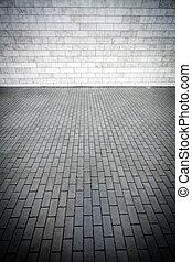pared, pavimento