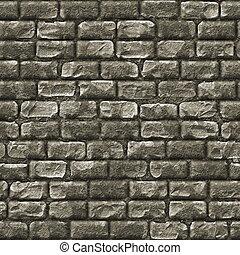 pared, piedra, ladrillo, seamless