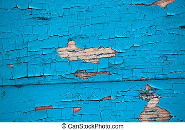 pared, pintura, facture, viejo, chappy