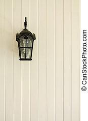 pared, postes de la lámpara