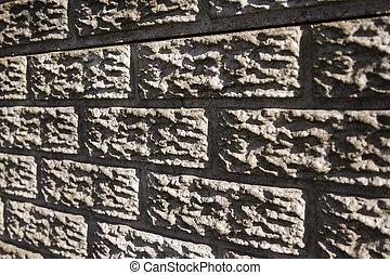 pared, precast, textura, concreto