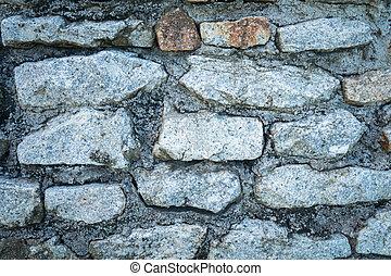pared, roca