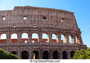 pared, romano, coloseum