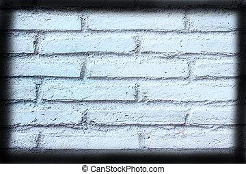 pared, textura, viñeta, Plano de fondo, blanco, ladrillo