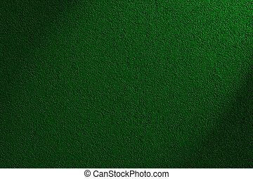 pared verde, textura, o, plano de fondo