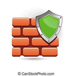 pared, y, protector