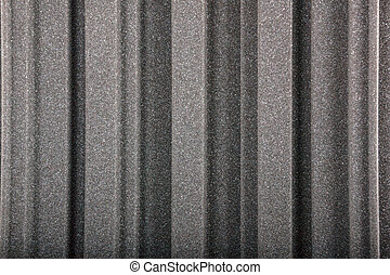 parede, acústico, espuma, closeup, fundo