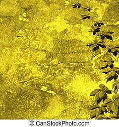 parede, amarela