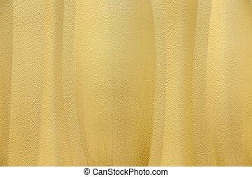parede, amarela, wavey, fundo, textured