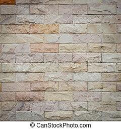 parede, arenito, textura, fundo